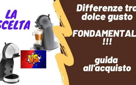differenze dolce gusto